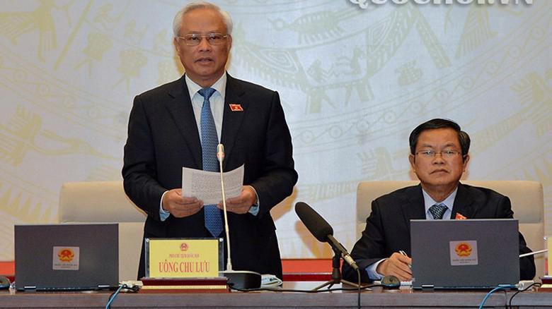 Theo Phó chủ tịch Quốc hội Uông Chu Lưu, xử lý vấn đề đất Thủ thiêm phải có quá trình lịch sử, nhìn vào khách quan, nhưng thực tế có vấn đề quy hoạch, bức xúc của cử tri.