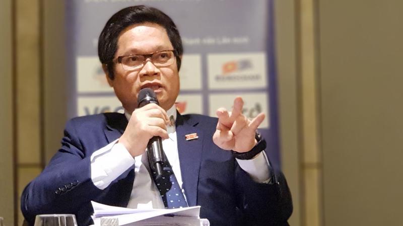 Ông Vũ Tiến Lộc, Chủ tịch VCCI - Ảnh: ĐT