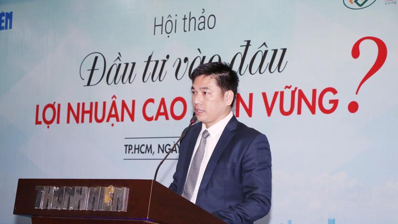 Ông Chu Thanh Hiếu - Tổng giám đốc Công ty TNHH Kinh doanh MIK Home.