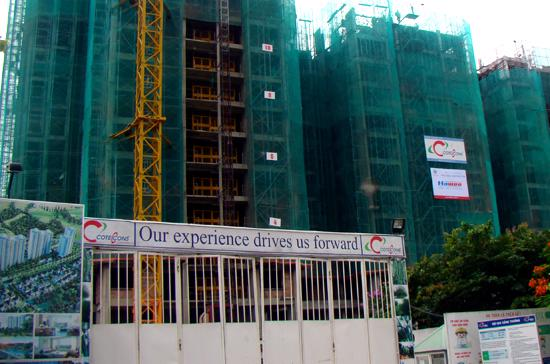 Hai tòa tháp 4, 5 khu căn hộ Rừng Cọ sẽ được hoàn thành trong năm 2012.