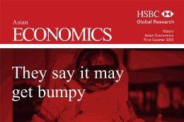Báo cáo quý 1/2010 về triển vọng tăng trưởng kinh tế châu Á của HSBC.