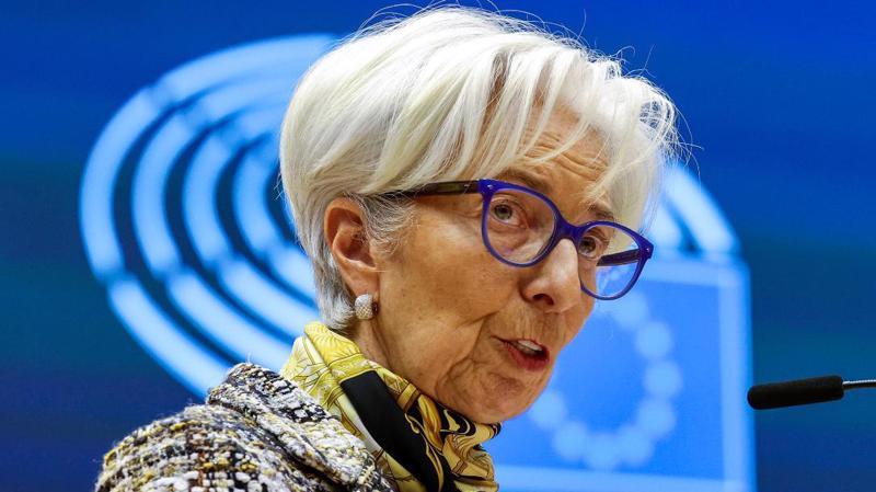 Bà Christine Lagarde, chủ tịch ECB - Ảnh: AP