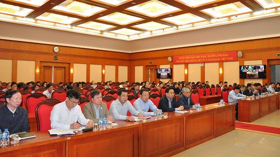 Đại biểu dự Hội nghị công khai tài sản, thu nhập lần đầu đối với các đồng chí thành viên Ủy ban Kiểm tra Trung ương - Ảnh: UBKTTW