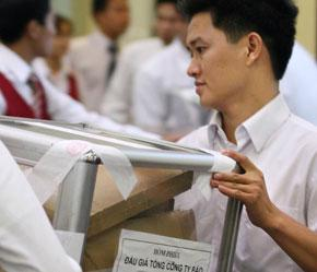 13.636.786 cổ phần còn lại hiện đang được Bảo Việt nghiên cứu các phương án xử lý để báo cáo Bộ Tài chính quyết định - Ảnh: Mạnh Thắng.