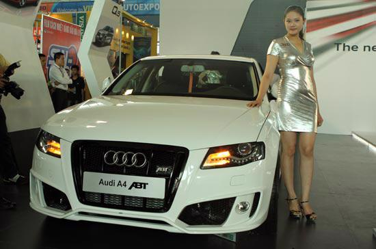 Audi A4 ABT, một trong 3 mẫu xe đầu tiên được ABT nâng đời tại Việt Nam. Ảnh Bobi