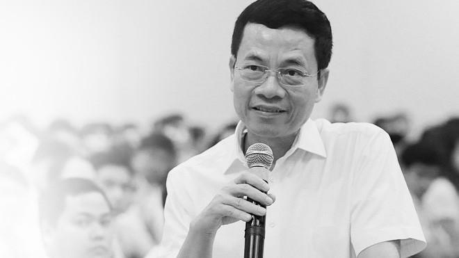 Ông Nguyễn Mạnh Hùng - Tổng giám đốc Tập đoàn Công nghiệp - Viễn thông Quân đội (Viettel).