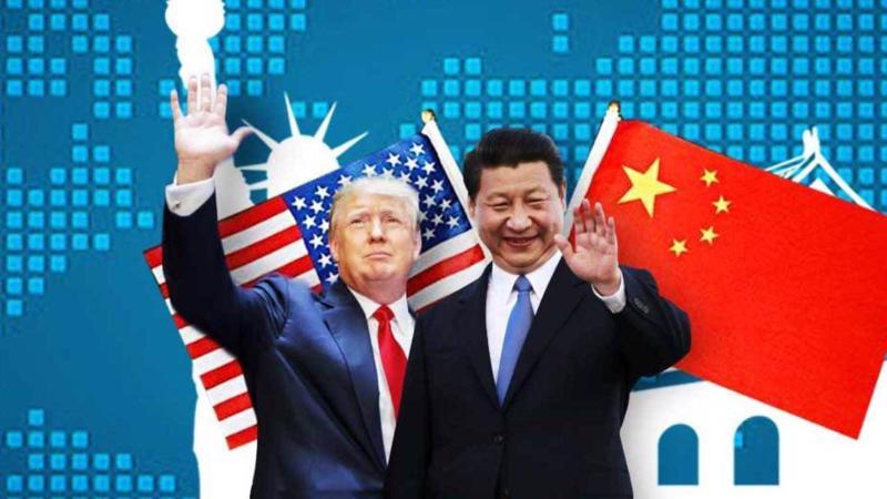 Tổng thống Mỹ Donald Trump và Chủ tịch Trung Quốc Tập Cận Bình.