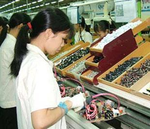 Sản phẩm hàng điện tử tiêu dùng chiếm tỷ lệ khá cao (80%) trong cơ cấu sản phẩm ngành điện tử tại Việt Nam.