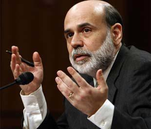 Ông Bernanke mô tả cuộc khủng hoảng tài chính như một cơn lốc.