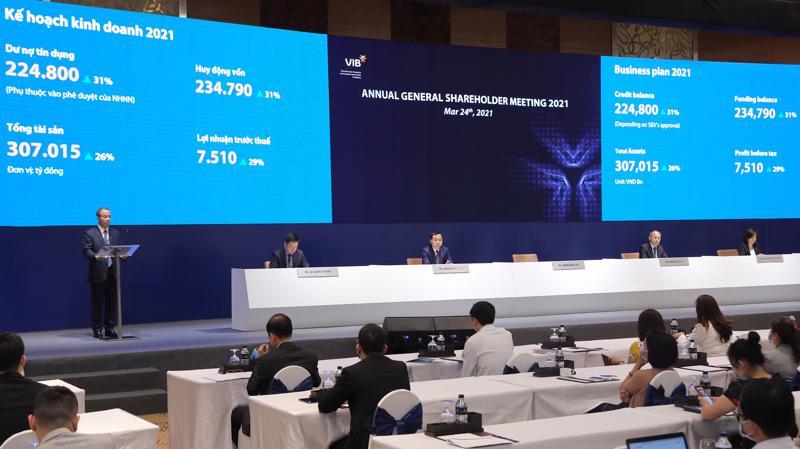Đại hội đồng cổ đông thống nhất thông qua phương án kinh doanh năm 2021.