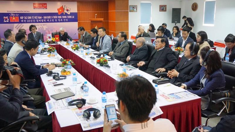 Quan hệ Việt - Hàn được nhìn nhận đang bước sang giai đoạn trưởng thành đến phát triển theo chiều sâu - Ảnh: Quang Phúc.