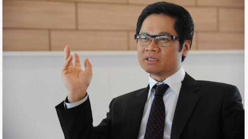 Ông Vũ Tiến Lộc, Chủ tịch Phòng Thương mại và Công nghiệp Việt Nam
