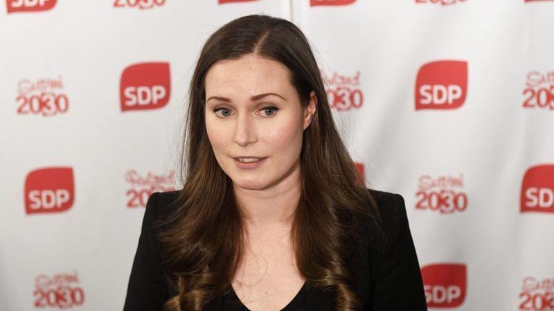 Bà Sanna Marin trở thành thủ tướng Phần Lan ở tuổi 34 - Ảnh: Reuters.