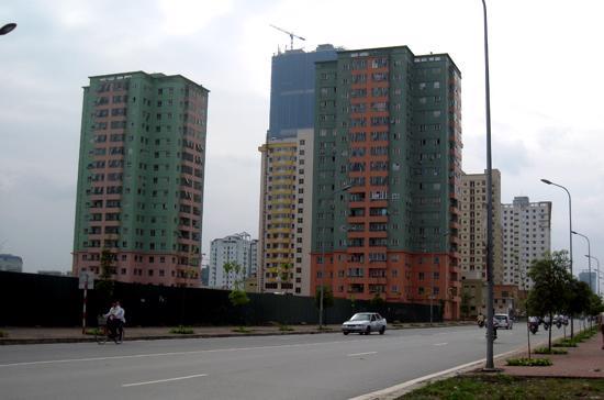 Dư nợ cho vay bất động sản tại Hà Nội trong nhiều năm thấp hơn đáng kể so với Tp.HCM - Ảnh: Bảo Anh.