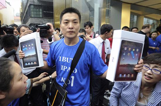 Trung Quốc là một trong những thị trường có sức tiêu thụ lớn các sản phẩm công nghệ của Apple - Ảnh: Getty.