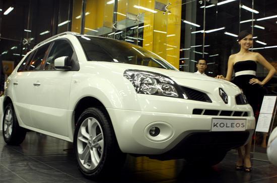 Renault Koleos chính hãng đầu tiên tại Việt Nam - Ảnh: Bobi.