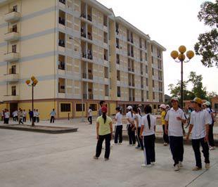 Ký túc xá tại Hà Nội mới chỉ đáp ứng được 18% nhu cầu của sinh viên.