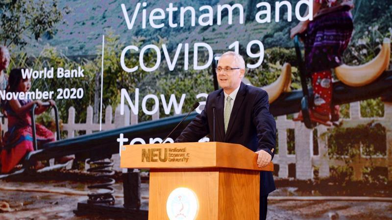 Chuyên gia Kinh tế trưởng WB tại Việt Nam Jacques Morisset - Ảnh: VGP