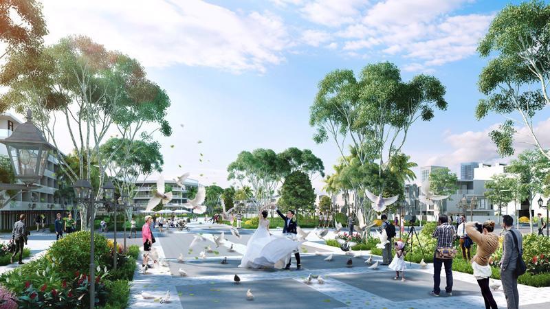Không gian công cộng tại FLC Lux City Quy Nhơn