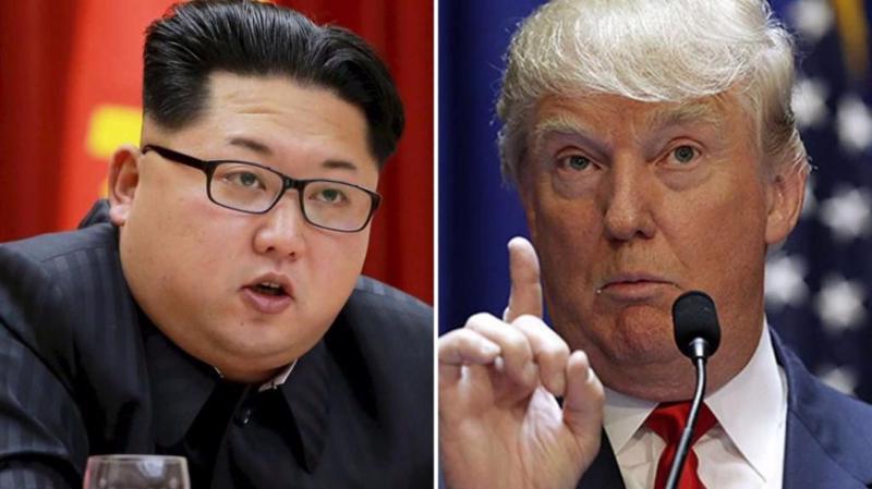 Nhà lãnh đạo Triều Tiên Kim Jong Un (trái) và Tổng thống Mỹ Donald Trump - Ảnh: Reuters.
