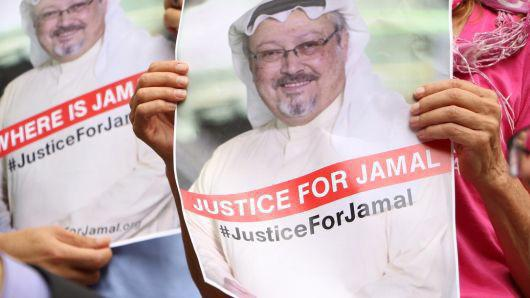 Ông Khashoggi là công dân Saudi Arabia nhưng cư trú ở Mỹ. Ông là một nhà báo của tờ Washington Post - Ảnh: Getty/CNBC.