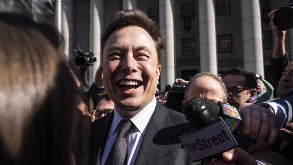 Nhà sáng lập kiêm CEO của Tesla, ông Elon Musk - Ảnh: Bloomberg.