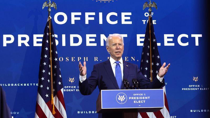 Tổng thống đắc cử Mỹ Joe Biden - Ảnh: Getty/Bloomberg.