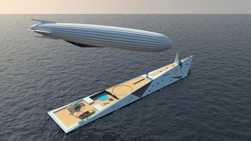 """<span style=""""font-size: 13.3333px;"""">Phi thuyền bên trên được gắn vào và cấp năng lượng bởi """"tàu mẹ"""" dài 140m bên dưới.</span>"""