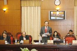 Sáu dự án luật sẽ được Ủy ban Thường vụ Quốc hội cho ý kiến tại phiên họp thứ 27.