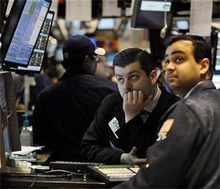 Chứng khoán Mỹ mất gần 9% giá trị trong tháng 1 - Ảnh: Reuters.