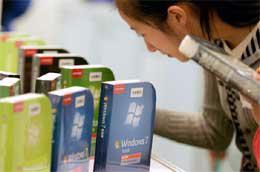 Giá bán lẻ Windows 7 vẫn còn cao so với mức thu nhập trung bình của người dân Việt Nam - Ảnh: Getty Images.