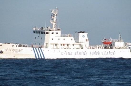 Tàu hải giám Trung Quốc mang số hiệu 84 vi phạm vùng biển của Việt Nam.