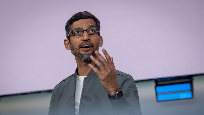 Sundar Pichai, CEO của Google - Ảnh: Bloomberg.