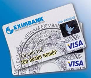 Với thẻ Eximbank - Visa Business, Eximbank sẽ ứng tiền cho các thành viên doanh nghiệp trong các khoản tiêu dùng trong và ngoài nước. Doanh nghiệp sẽ thanh toán lại cho Eximbank sau tối đa 45 ngày kể từ ngày thực hiện giao dịch thẻ mà không chịu bất cứ loại phí nào.