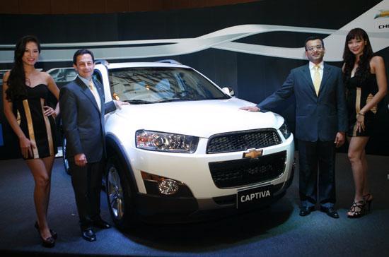 GM Việt Nam đang đặt không ít kỳ vọng vào mẫu xe Chevrolet Captiva thế hệ mới - Ảnh: Đức Thọ.
