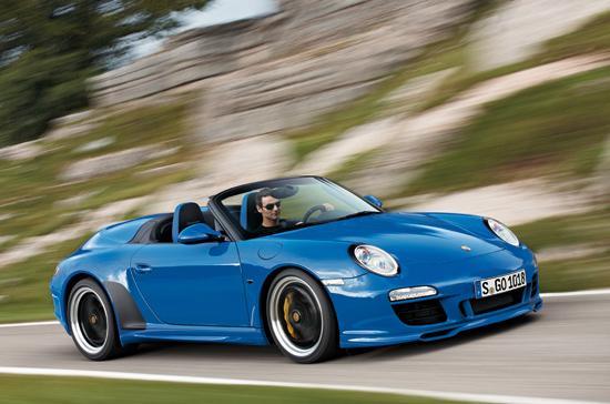 Porsche 911 Speedster chỉ được sản xuất với số lượng 365 chiếc - Ảnh: Marc Urbano.