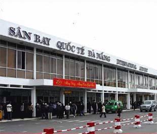 Một góc sân bay Đà Nẵng.