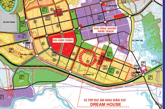 Dự án Khu đô thị Căn Nhà Mơ Ước - Dreamhouse City.
