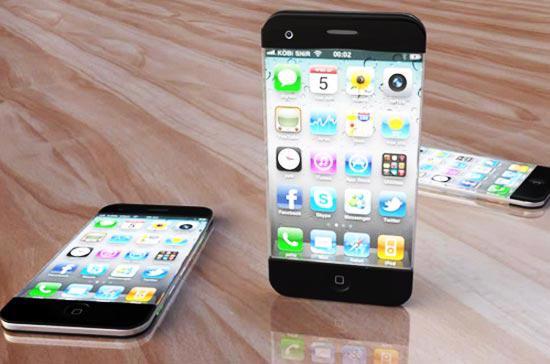 Một trong những thiết kế khá lạ, được cho là của mẫu điện thoại iPhone thế hệ thứ 5 của nhà sản xuất Apple.