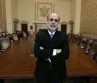 Chủ tịch Cục Dự trữ Liên bang Mỹ (FED) Ben Bernanke.