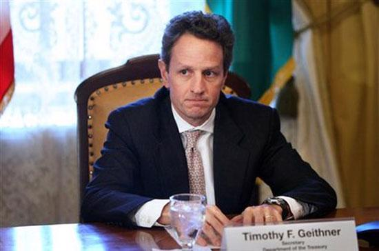 Ông Timothy Geithner.