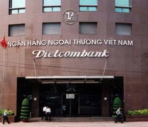 Trụ sở Vietcombank tại Hà Nội.