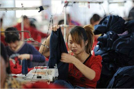 Tăng trưởng kinh tế Trung Quốc liên tục chậm lại thời gian gần đây.