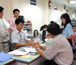 Cảnh đăng ký kinh doanh - đầu tư tại Sở Kế hoạch và Đầu tư Tp.HCM - Ảnh: TT.