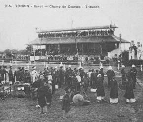 Trường đua ngựa trước đây tại Hà Nội.