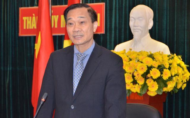 Phó bí thư Tỉnh uỷ Quảng Ninh, ông Vũ Hồng Thanh.