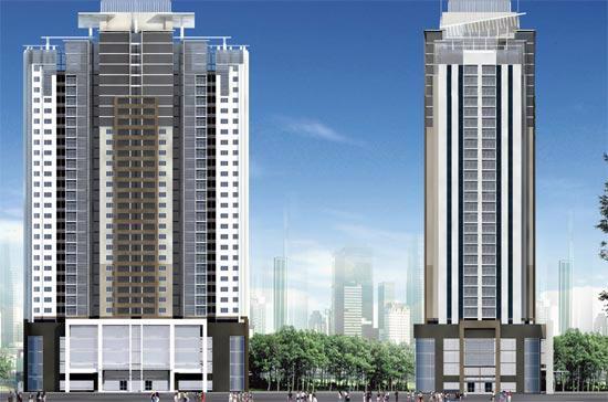 Phối cảnh tổng thể dự án FLC Landmark Tower.