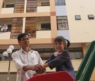 Một dự án nhà ở giá thấp tại quận 7, Tp.HCM - Ảnh: Lê Toàn.