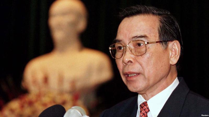 Nguyên Ủy viên Bộ Chính trị, nguyên Thủ tướng Chính phủ Phan Văn Khải đã từ trần vào hồi 1h30 ngày 17/3/2018 tại quê nhà Củ Chi, Tp.HCM.