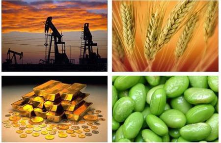 Giá vàng chạm mức cao nhất trong 2 tuần qua, trong khi giá dầu thô lên tới đỉnh 8 tháng.